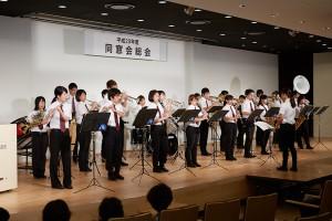 京産大全学応援団吹奏学部
