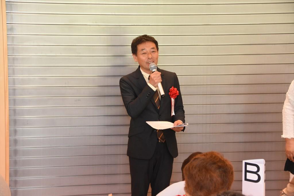 山田副校長先生挨拶